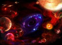 mitos creacion del universo 203x150 - El ser no está en el pensamiento sino en el espacio entre nuestros pensamientos