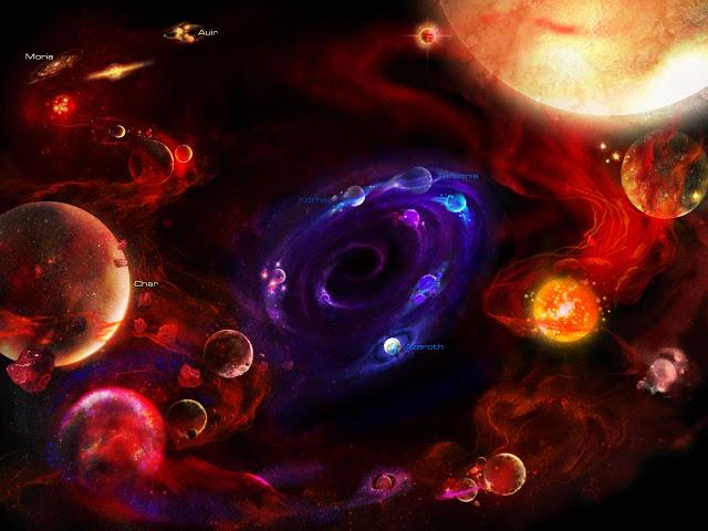 mitos creacion del universo - El ser no está en el pensamiento sino en el espacio entre nuestros pensamientos