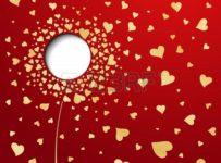 16674490 goldene herzen auf rotem hintergrund abstract flower 203x150 - Transforma lo invisible en visible