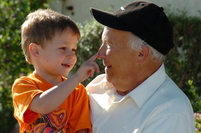 abuelo nieto - ¿Para que nacemos?